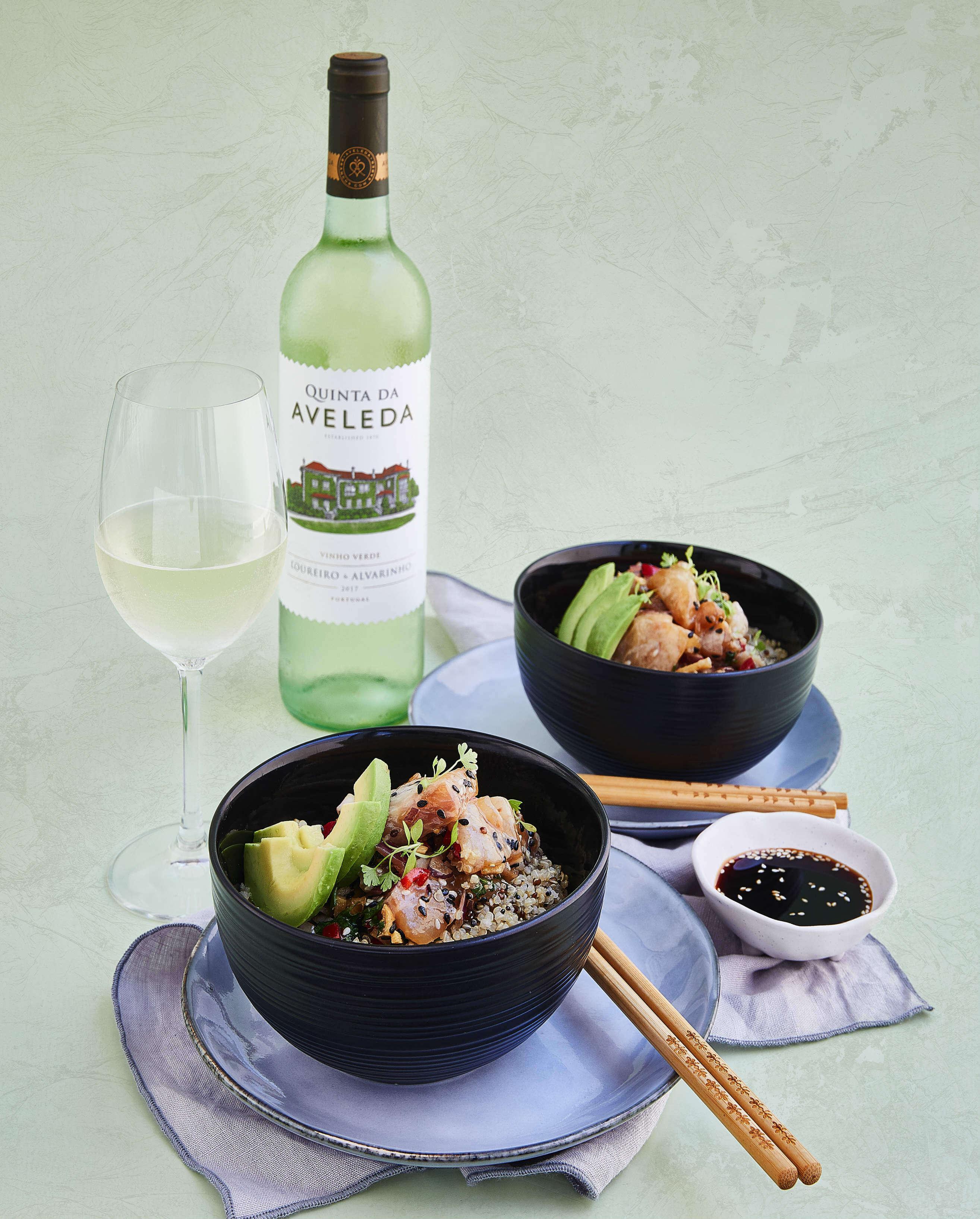 Fish Bowl with Quinoa Recipe